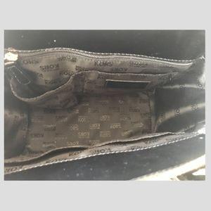 Michael Kors Bags - Micheal Kors black patent Hudson Conv crossbow